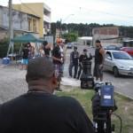 Bastidores da gravação do clipe Enterro do Neguinho