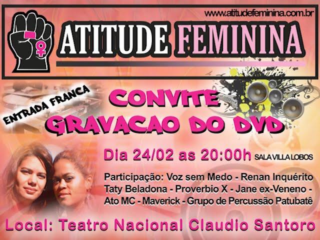 """5bce2e258 30 Respostas para """"Gravação do 1º DVD do Atitude Feminina"""""""